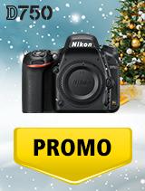 In perioada 5 decembrie 2018 - 8 ianuarie 2019 aparatul DSLR Nikon D750 body se afla in oferta la partenerii oficiali Nikon din Romania. www.nikonisti.ro