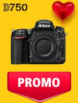 In perioada 5 - 25 februarie 2019 aparatul DSLR Nikon D750 body se afla in oferta la partenerii oficiali Nikon din Romania. www.nikonisti.ro