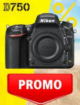 In perioada 3 iunie - 6 iulie 2020 aparatul DSLR Nikon D750 body se afla in oferta la partenerii oficiali Nikon din Romania. www.nikonisti.ro
