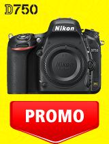 In perioada 7 iulie - 3 august 2020 aparatul DSLR Nikon D750 body se afla in oferta la partenerii oficiali Nikon din Romania. www.nikonisti.ro