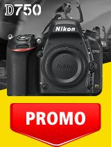 In perioada 1 - 30 septembrie 2020 aparatul DSLR Nikon D750 body se afla in oferta la partenerii oficiali Nikon din Romania. www.nikonisti.ro