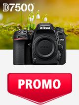 In perioada 1 - 31 martie 2019 aparatul foto DSLR Nikon  D7500 body se afla in oferta la partenerii oficiali Nikon din Romania. www.nikonisti.ro