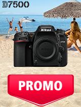 In perioada 1 - 31 iulie 2019 aparatul foto DSLR Nikon D7500 body se afla in oferta la partenerii oficiali Nikon din Romania. www.nikonisti.ro