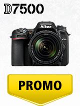 In perioada 4 decembrie 2019 - 15 ianuarie 2020 aparatul DSLR Nikon D7500 Kit AF-S 18-140mm VR se afla in oferta la partenerii oficiali Nikon din Romania. www.nikonisti.ro