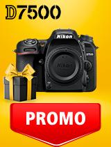 In perioada 25 februarie - 9 martie 2020 aparatul DSLR Nikon D7500 body se afla in oferta la partenerii oficiali Nikon din Romania. www.nikonisti.ro