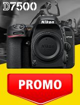 In perioada 1 - 30 septembrie 2020 aparatul DSLR Nikon D7500 body se afla in oferta la partenerii oficiali Nikon din Romania. www.nikonisti.ro