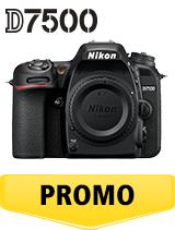 In perioada 16 aprilie 2018- 6 iunie 2018 aparatul foto DSLR Nikon  D7500 body se afla in oferta la partenerii oficiali Nikon din Romania. www.nikonisti.ro