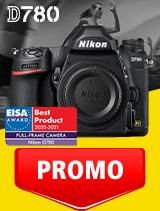 In perioada 1 - 30 septembrie 2020 aparatul DSLR Nikon D780 body se afla in oferta la partenerii oficiali Nikon din Romania. www.nikonisti.ro