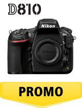 In perioada 26 iunie 2018 - 5 august 2018 aparatul foto DSLR Nikon D810 body se afla in oferta la partenerii oficiali Nikon din Romania. www.nikonisti.ro