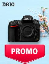 In perioada 7 mai - 3 iunie 2019 aparatul DSLR Nikon D810 body se afla in oferta la partenerii oficiali Nikon din Romania. www.nikonisti.ro