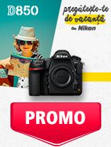 In perioada 27 mai - 30 iunie 2019 aparatul foto DSLR Nikon  D850 body se afla in oferta la partenerii oficiali Nikon din Romania. www.nikonisti.ro