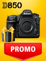 In perioada 25 februarie - 9 martie 2020 aparatul foto DSLR Nikon D850 body se afla in oferta la partenerii oficiali Nikon din Romania. www.nikonisti.ro