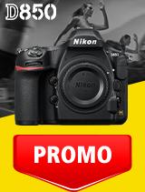 In perioada 1 - 30 septembrie 2020 aparatul foto DSLR Nikon D850 body se afla in oferta la partenerii oficiali Nikon din Romania. www.nikonisti.ro