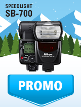 In perioada 9 ianuarie - 4 februarie 2019 blitul Nikon SPEEDLIGHT SB-700 se afla in oferta la partenerii oficiali Nikon din Romania. www.nikonisti.ro