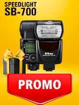 In perioada 25 februarie - 9 martie 2020, blitul foto Nikon SPEEDLIGHT SB-700 se afla in oferta la partenerii oficiali Nikon din Romania. www.nikonisti.ro