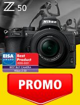 In perioada 1 - 30 septembrie 2020 aparatul Mirrorless Nikon Z50 Kit 16-50mm DX VR se afla in oferta la partenerii oficiali Nikon din Romania. www.nikonisti.ro