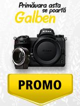 In perioada 1 aprilie - 6 mai 2019 aparatul mirrorless Nikon Z6 + FTZ se afla in oferta la partenerii oficiali Nikon din Romania. www.nikonisti.ro