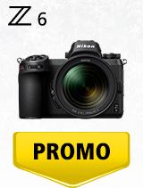 In perioada 4 decembrie 2019 - 15 ianuarie 2020 aparatul Mirrorless Nikon Z6 Kit 24-70mm f/4 se afla in oferta la partenerii oficiali Nikon din Romania. www.nikonisti.ro