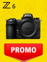 In perioada 21 ianuarie - 24 februarie 2020 aparatul Mirrorless Nikon Z6 body se afla in oferta la partenerii oficiali Nikon din Romania. www.nikonisti.ro