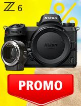 In perioada 3 iunie - 6 iulie 2020 aparatul foto mirrorless Nikon Z6 body + FTZ se afla in oferta la partenerii oficiali Nikon din Romania. www.nikonisti.ro