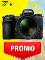 In perioada 3 iunie - 6 iulie 2020 aparatul Mirrorless Nikon Z6 Kit 24-70mm f/4 S se afla in oferta la partenerii oficiali Nikon din Romania. www.nikonisti.ro