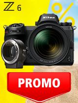 In perioada 3 iunie - 6 iulie 2020 aparatul Mirrorless Nikon Z6 Kit 24-70mm f/4 S+ FTZ se afla in oferta la partenerii oficiali Nikon din Romania. www.nikonisti.ro