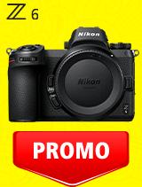 In perioada 7 iulie - 3 august 2020 aparatul foto mirrorless Nikon Z6 body se afla in oferta la partenerii oficiali Nikon din Romania. www.nikonisti.ro