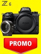 In perioada 7 iulie - 3 august 2020 aparatul foto mirrorless Nikon Z6 body + FTZ se afla in oferta la partenerii oficiali Nikon din Romania. www.nikonisti.ro