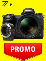 In perioada 7 iulie - 3 august 2020 aparatul Mirrorless Nikon Z6 Kit 24-70mm f/4 S+ FTZ se afla in oferta la partenerii oficiali Nikon din Romania. www.nikonisti.ro