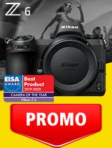 In perioada 1 - 30 septembrie 2020 aparatul foto mirrorless Nikon Z6 body se afla in oferta la partenerii oficiali Nikon din Romania. www.nikonisti.ro