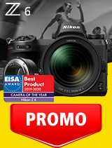 In perioada 1 - 30 septembrie 2020 aparatul Mirrorless Nikon Z6 Kit 24-70mm f/4 S+ FTZ se afla in oferta la partenerii oficiali Nikon din Romania. www.nikonisti.ro
