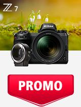 In perioada 1 - 31 martie 2019 aparatul mirrorless Nikon Z7 Kit 24-70mm + FTZ se afla in oferta la partenerii oficiali Nikon din Romania. www.nikonisti.ro