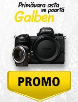 In perioada 1 aprilie - 6 mai 2019 aparatul mirrorless Nikon Z7 + FTZ se afla in oferta la partenerii oficiali Nikon din Romania. www.nikonisti.ro