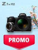 In perioada 7 mai - 3 iunie 2019 aparatul foto mirrorless Nikon Z7 Kit 24-70mm + FTZ se afla in oferta la partenerii oficiali Nikon din Romania. www.nikonisti.ro
