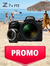 In perioada 1 - 31 iulie 2019 aparatul foto mirrorless Nikon Z7 Kit 24-70mm + FTZ se afla in oferta la partenerii oficiali Nikon din Romania. www.nikonisti.ro