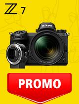 In perioada 21 ianuarie - 24 februarie 2020 aparatul Mirrorless Nikon Z7 Kit 24-70mm f/4 S + FTZ se afla in oferta la partenerii oficiali Nikon din Romania. www.nikonisti.ro