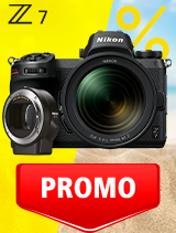 In perioada 3 iunie - 6 iulie 2020 aparatul foto Mirrorless Nikon Z7 Kit 24-70mm f/4 S + FTZ se afla in oferta la partenerii oficiali Nikon din Romania. www.nikonisti.ro